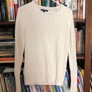 White/cream colored sweater